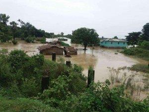 Overstromingen in Nepal