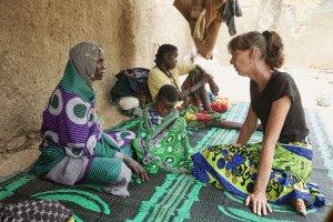 Geeske Zijp in Tsjaad