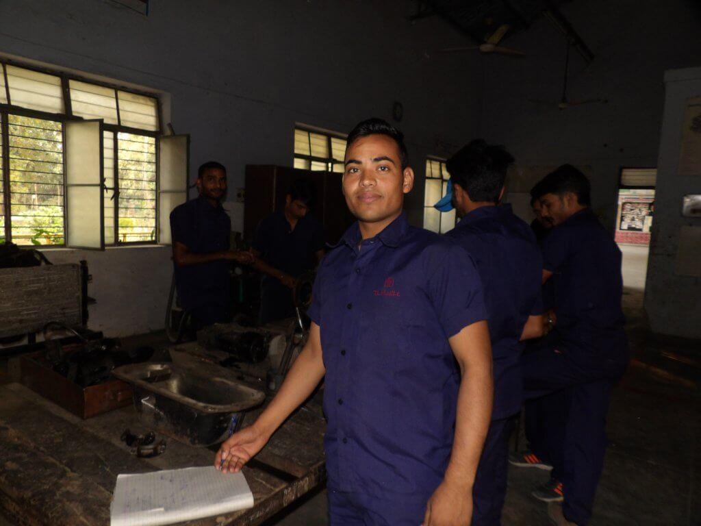 vakschool, vaktraining, lepra, India